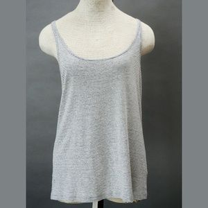 Women's tank top S by Eileen Fisher cotton striped